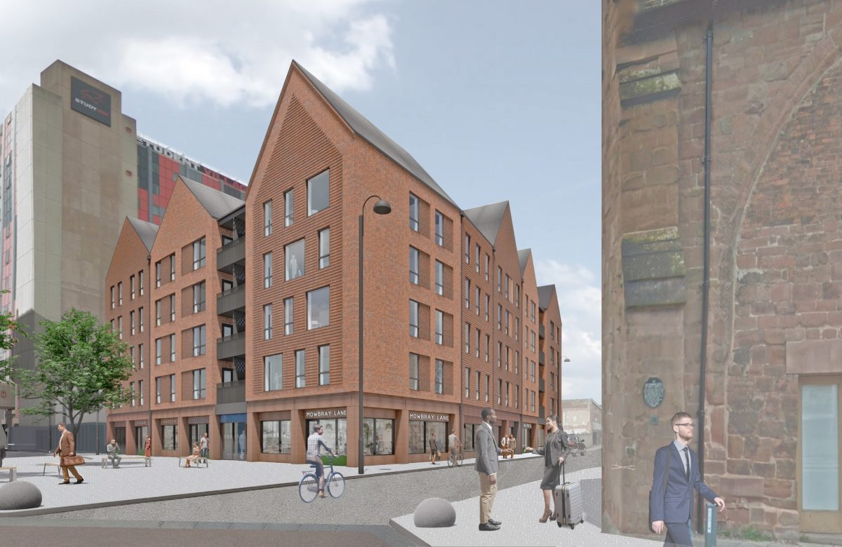 Planning submitted for Well St, Coventry